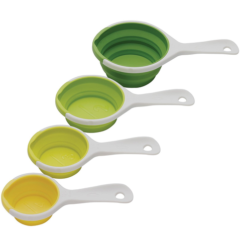 Chef'N Sleektorâ® Pinch + Pour™ Collapsible Measuring Cups