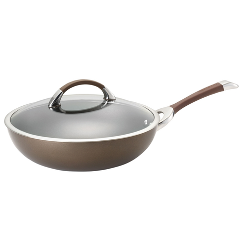 Circulon 12'' Covered Essentials Pan, Brown