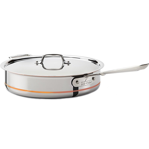 ALL-CLAD COPPER CORE® 6-QUART SAUCE PAN