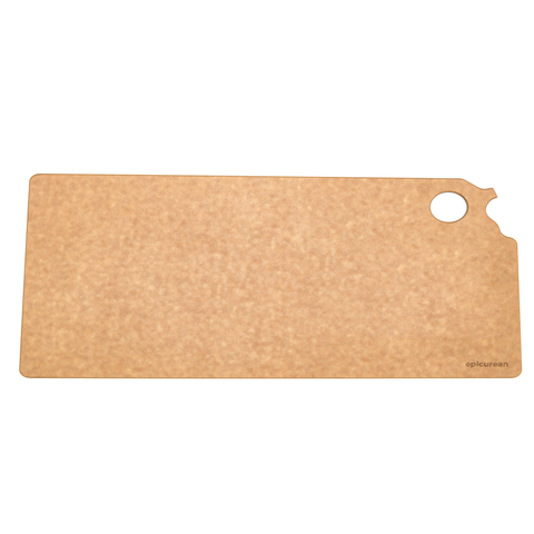 EPICUREAN STATE OF KANSAS 14.5'' X 9.5'' CUTTING AND SERVING BOARD - NATURAL
