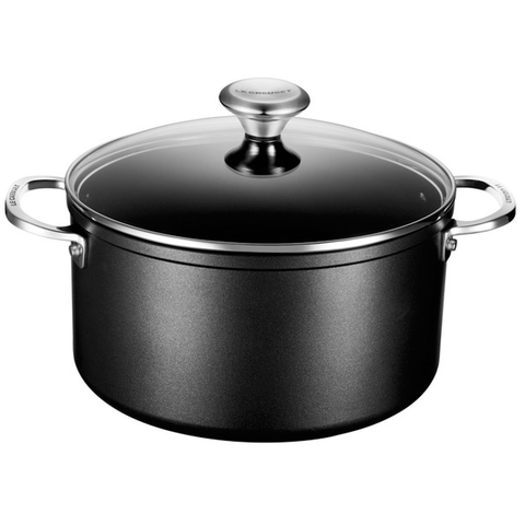 LE CREUSET 6.3-QUART TOUGHENED NONSTICK STOCKPOT