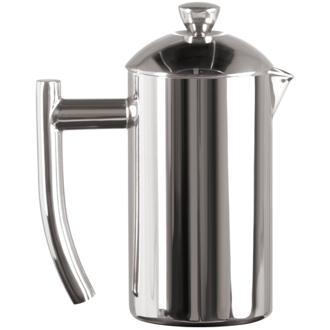 FRIELING USA DOUBLE WALL STAINLESS STEEL 8-OUNCE FRENCH PRESS COFFEE MAKER