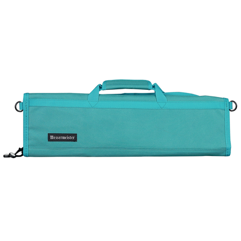 MESSERMAISTER 8-POCKET PADDED KNIFE ROLL - TEAL