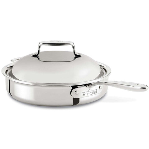ALL-CLAD D7® STAINLESS STEEL 3-QUART PAN ROASTER