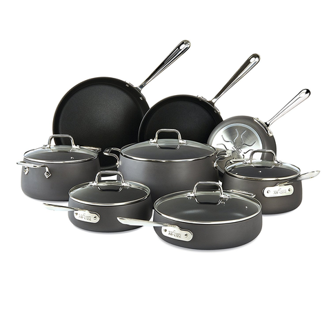 ALL-CLAD HA1 NONSTICK 13-PIECE SET