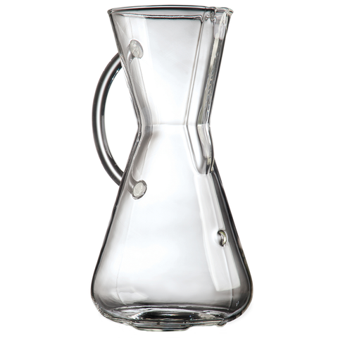 CHEMEX® 3-CUP GLASS HANDLE