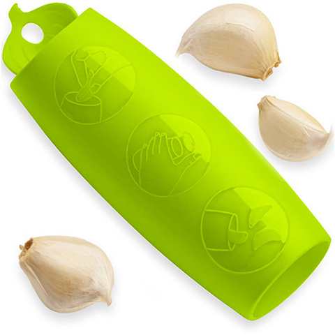 KUHN RIKON GARLIC PEELER - GREEN
