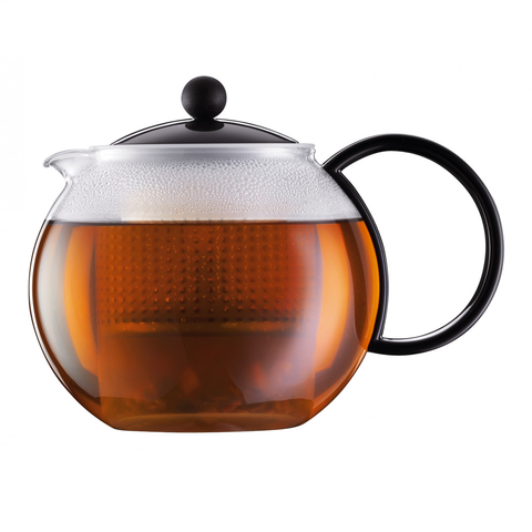 Bodum Assam 17-Ounce Tea Press, Black