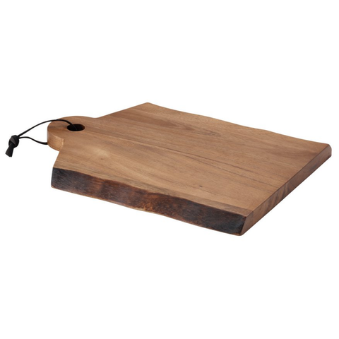 RACHAEL RAY CUCINA PANTRYWARE WOOD CUTTING BOARD WITH HANDLE