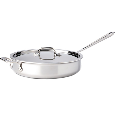 ALL-CLAD STAINLESS STEEL 3-QUART SAUTE PAN