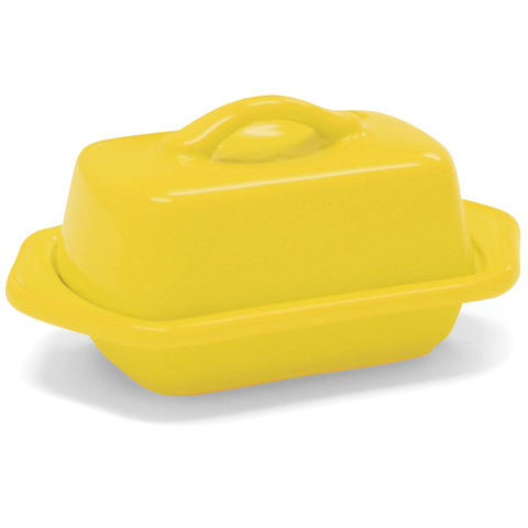 CHANTAL COUNTERTOP 5'' MINI BUTTER DISH - CANRY YELLOW