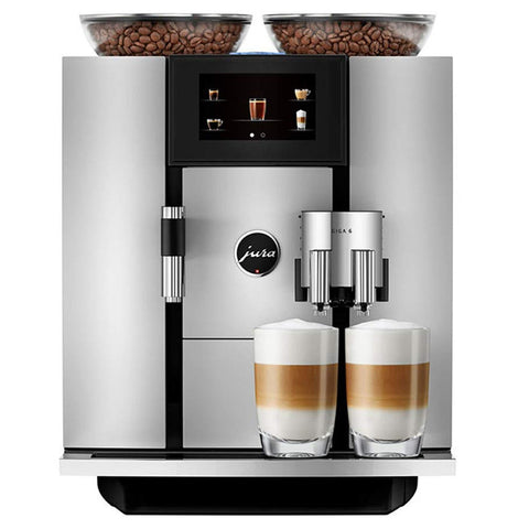 Jura Giga 6 Automatic Coffee Machine, Silver