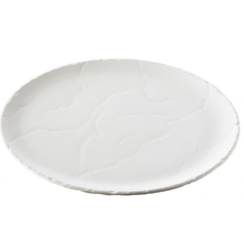 REVOL BASALT 648769 CERAMIC PIZZA PLATE WITH SLATE EFFECT