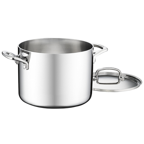 CUISINART FRENCH CLASSIC TRI-PLY STAINLESS 6-QUART COOKWARE