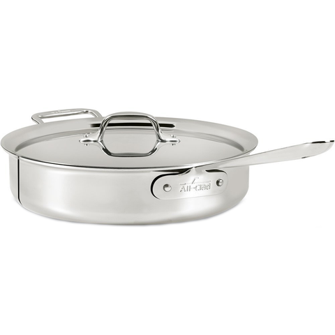 ALL-CLAD STAINLESS 6-QUART SAUTE PAN
