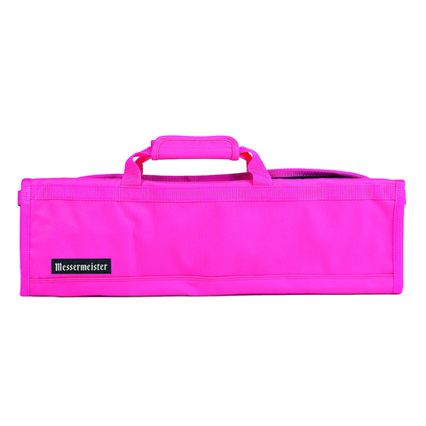 MESSERMAISTER 8-POCKET PADDED KNIFE ROLL - PINK