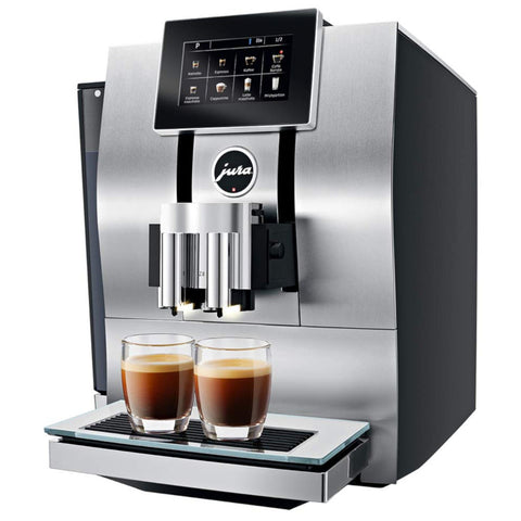 Jura Z8 Aluminum Automatic Espresso & Cappuccino Machine with Touch screen