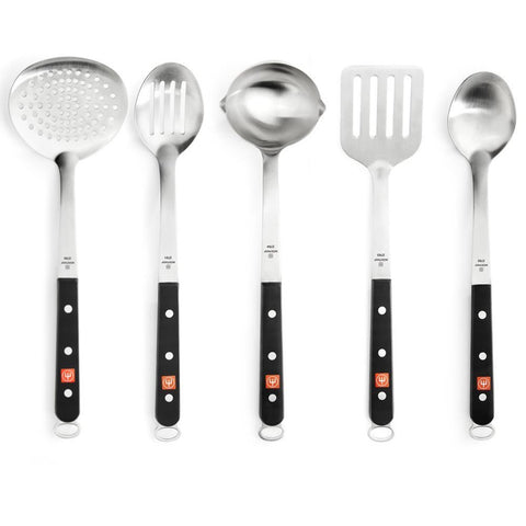 Wusthof Stainless Steel 5 Piece Kitchen Tool Set