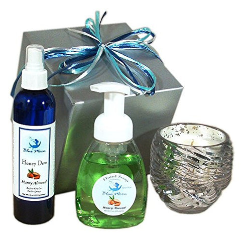 Honey Almond with Vanilla Keep Home Smelling Fresh Gift Set Housewarming Gift