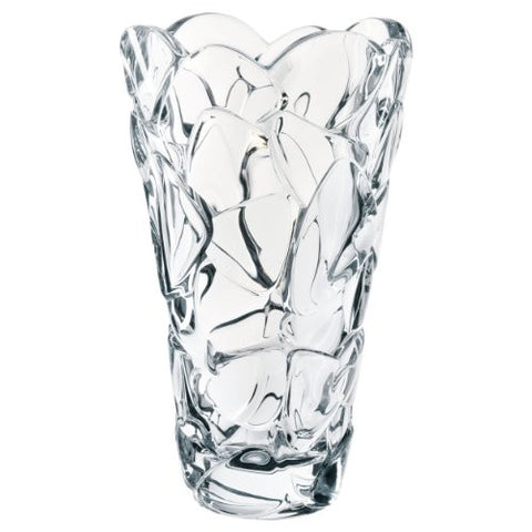 Nachtmann High Quality Glass Vase Petals, Crystal Glass, 28 cm, Made in Germany, 88336