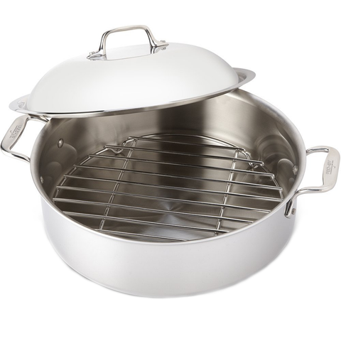 ALL-CLAD STAINLESS STEEL 6-QUART FRENCH BRAISER