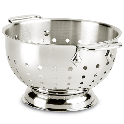 ALL-CLAD KITCHEN ACCESSORIES, 3-QUART STAINLESS STEEL COLANDER
