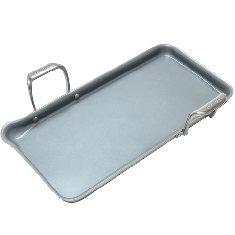 CHANTAL INDUCTION 21 STEEL TRI-PLY GRIDDLE WITH CERAMIC COATING