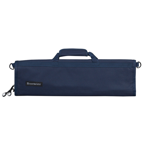 MESSERMAISTER 8-POCKET PADDED KNIFE ROLL - NAVY