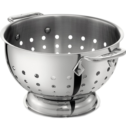 ALL-CLAD KITCHEN ACCESSORIES 5-QUART STAINLESS STEEL COLANDER
