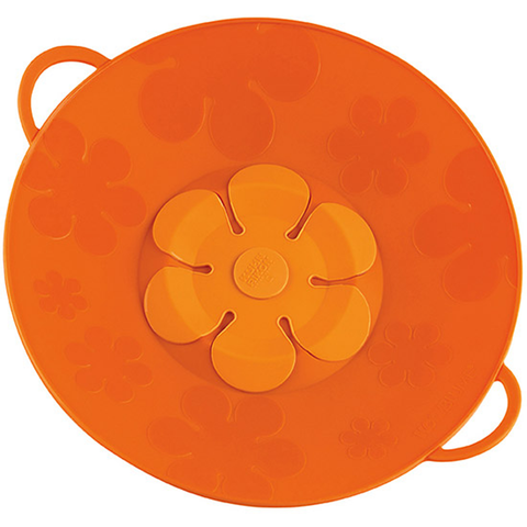 KUHN RIKON KOCHBLUME® SPILL STOPPER - ORANGE