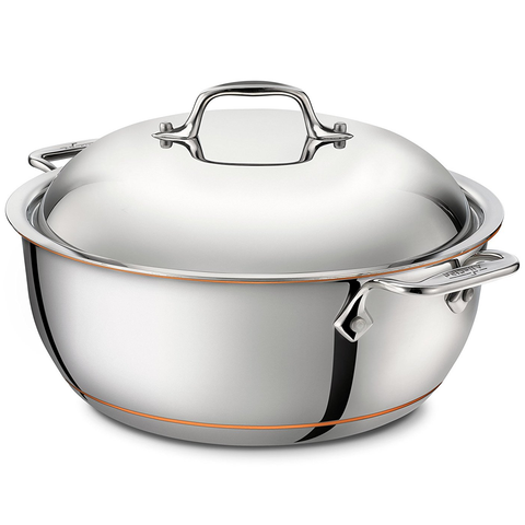 ALL-CLAD COPPER CORE® 5.5-QUART DUTCH OVEN