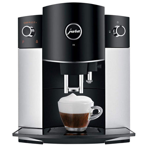 Jura D6 Platinum Super-Automatic Espresso Machine