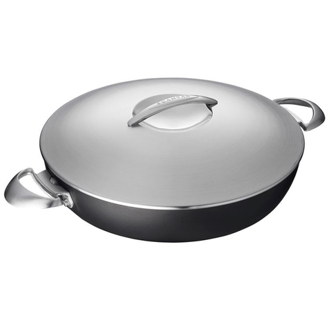 Scanpan Professional 5.5-Quart Chef Pan with Lid