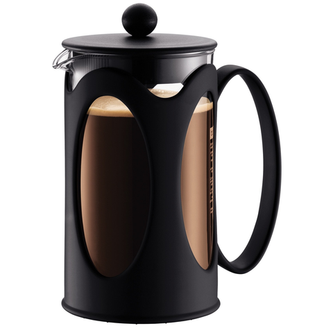 BODUM KENYA 8-CUP FRENCH PRESS - BLACK