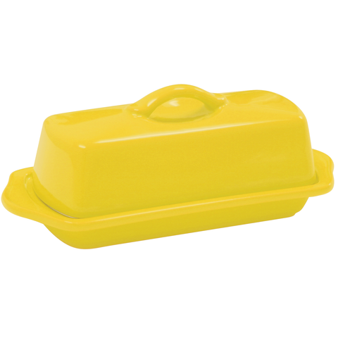 CHANTAL COUNTERTOP 8.5'' FULL-SIZE BUTTER DISH -CANARY YELLOW
