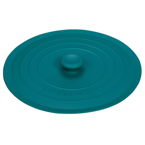 LE CREUSET 8'' SILICONE LID - CARIBBEAN