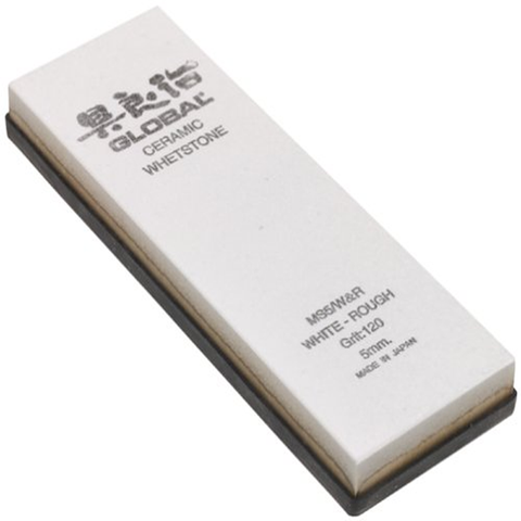 GLOBAL CERAMIC WHETSTONE 120 GRIT, ROUGH