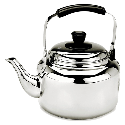 Demeyere Resto 4.2-Quart Stainless Steel Tea Kettle