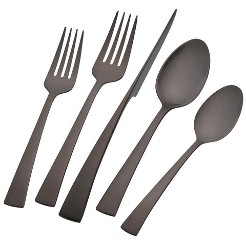 ZWILLING BELLASERA 20-PIECE FLATWARE SET - BLACK