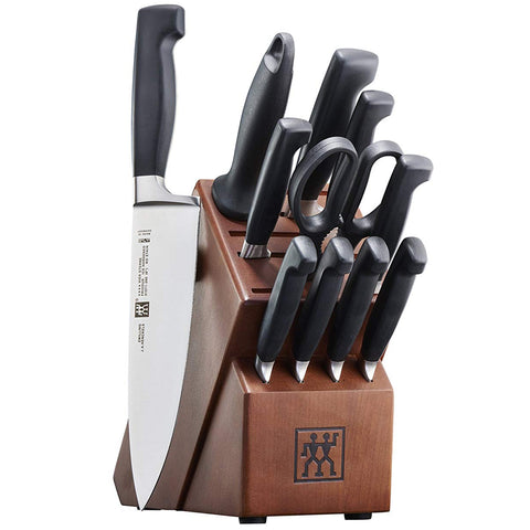 Zwilling J.A. Henckels Four Star 12-Piece Knife Block Set