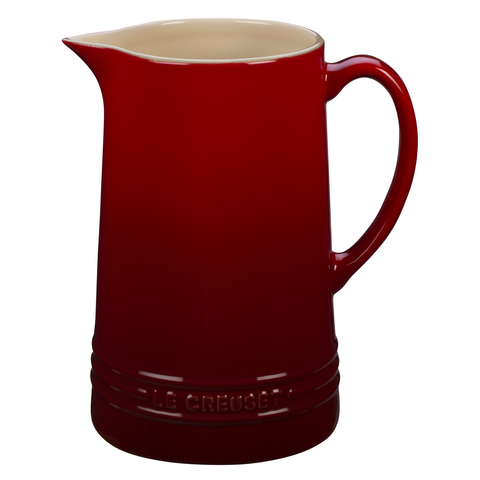 LE CREUSET 1.6-QUART PITCHER - CERISE