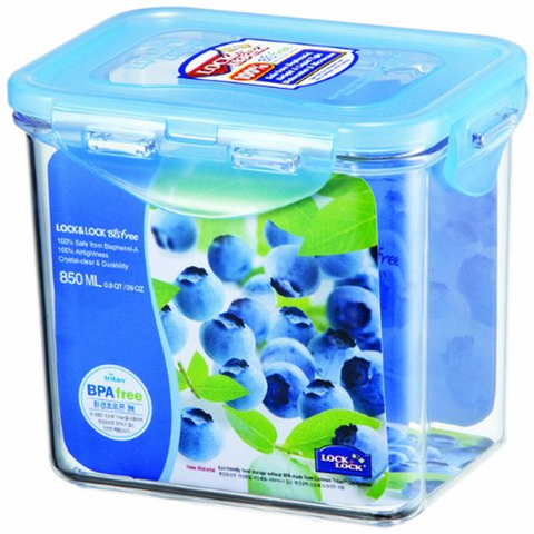 LOCK & LOCK 3.6 CUPS BISFREE RECTANGULAR CONTAINER