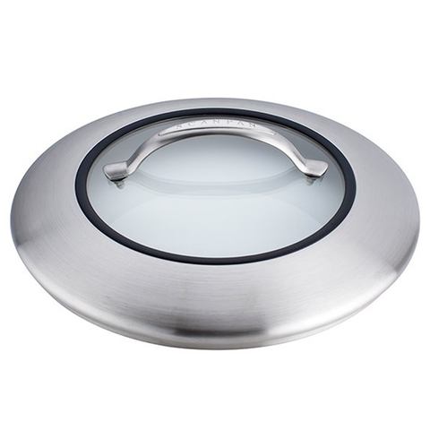 SCANPAN CTX 7'' STEEL/GLASS LID