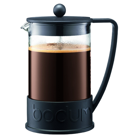 BODUM BRAZIL12-CUP FRENCH PRESS - BLACK