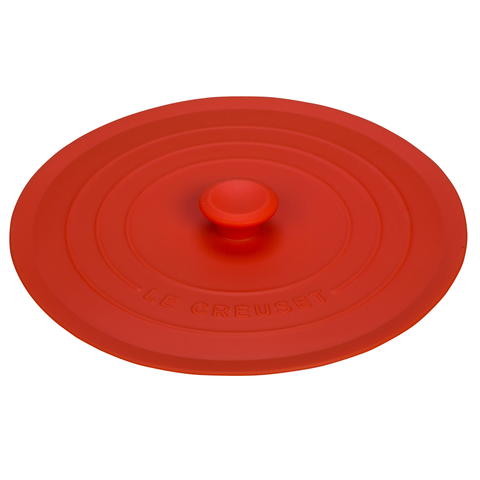 LE CREUSET 8'' SILICONE LID - FLAME