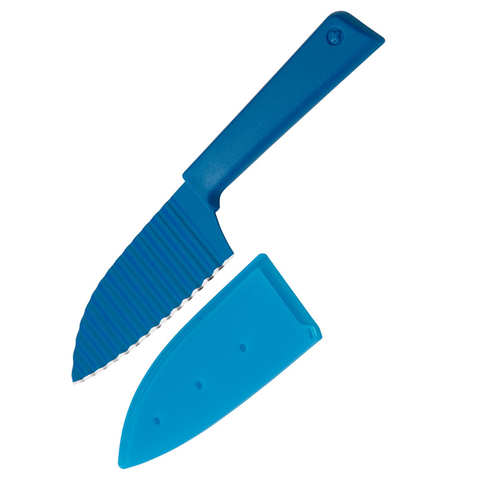 KUHN RIKON COLORI®+ 5'' KRINKLE KNIFE - BLUE