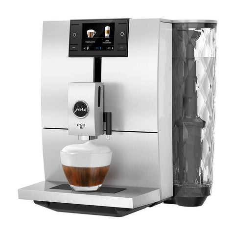 Jura ENA 8 Coffee Machine - Nordic White