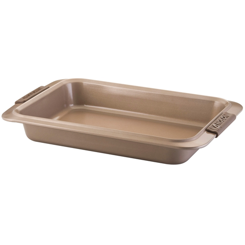 ANOLON 9-INCH X 13-INCH CAKE PAN, BRONZE