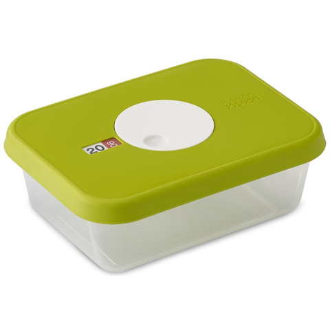 JOSEPH JOSEPH DIAL™ FOOD STORAGE CONTAINER WITH DATABLE LID