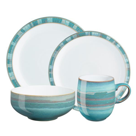 Denby Azure Coast 4-Piece Set